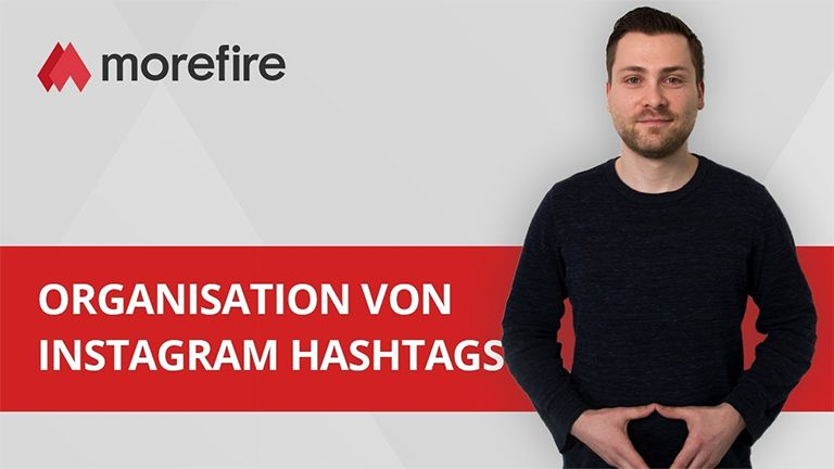 Instagram Hashtags organisieren (YouTube Video)